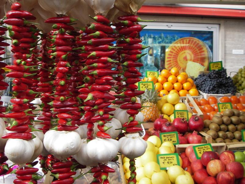 Bozen Obstmarkt