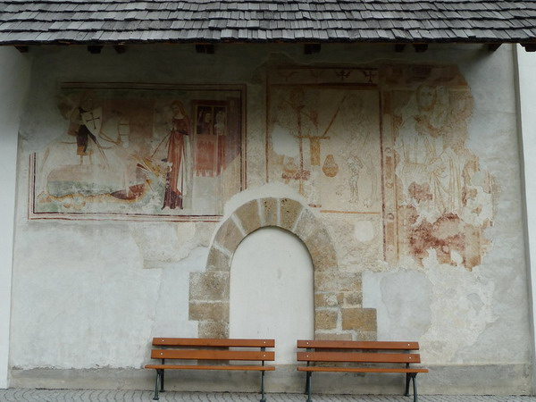 Fresken Kirche San Giachem Bever
